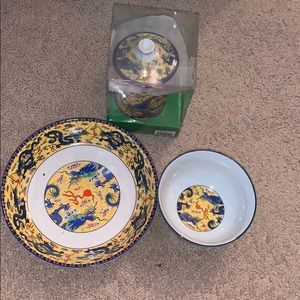 Asian Glass Dishes